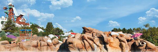 Disney World Blizzard Beach Ski Slope Water Slide Banner